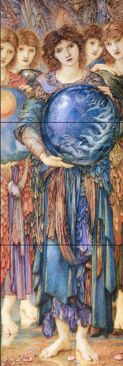 Edward Burne-Jones, Angels of the Fifth Day of Creation