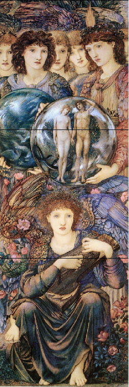 Edward Burne-Jones, Angels of the Sixth and Seventh Day of Creation