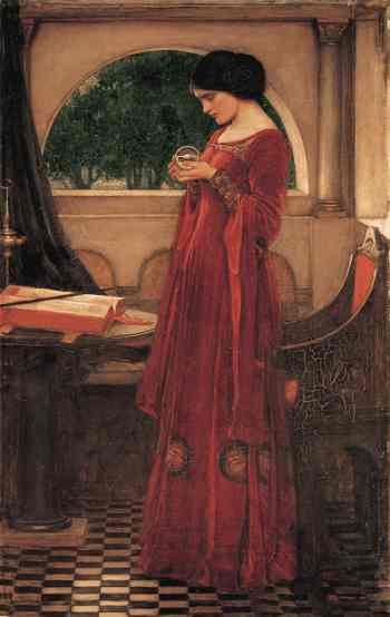 John William Waterhouse, The Crystal Ball