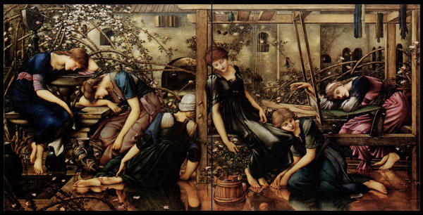 Edward Burne-Jones, Briar Rose Tiles