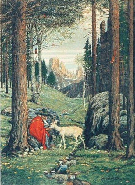 Der Berggeist - Tolkien's inspiration for Gandalf