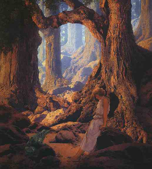 Maxfield Parrish, the Enchanted Prince