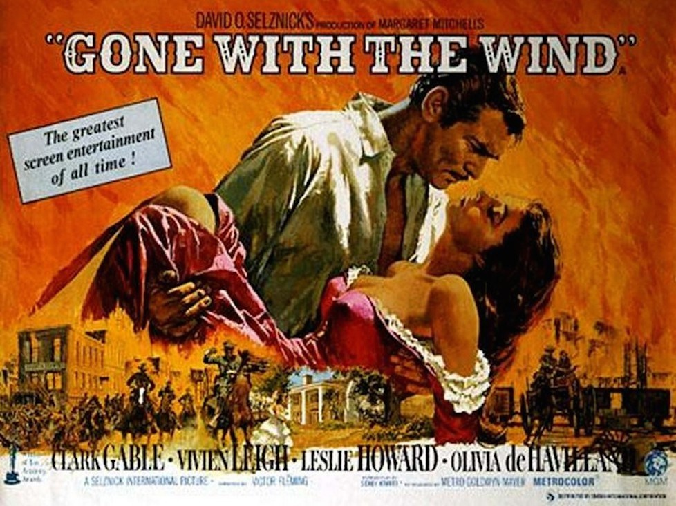 Gone with the Wind, playbill