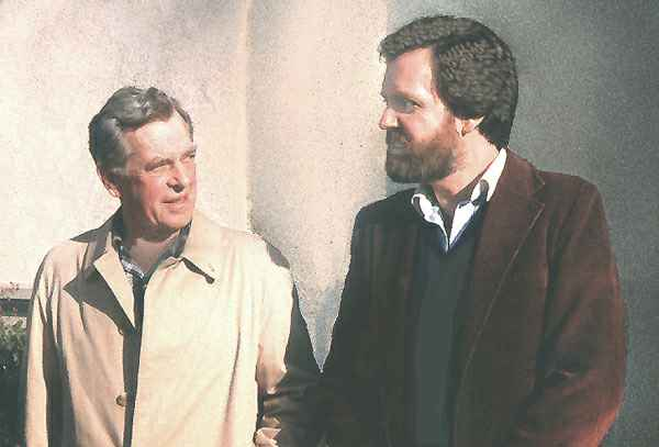 Jonathan Young with Joseph Campbell