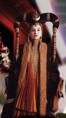 Star Wars Padme Amidala headdress