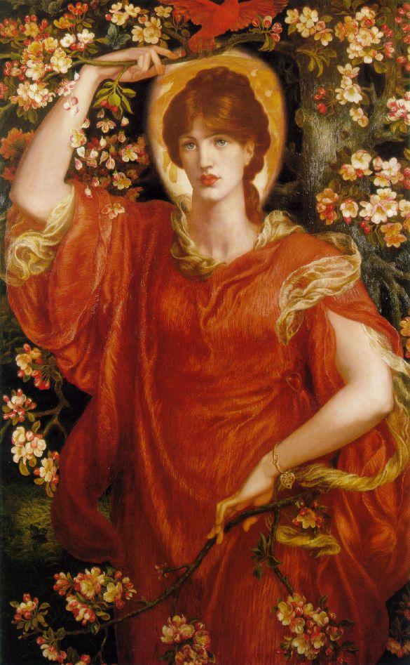 A Vision of Fiammetta, Dante Gabriel Rossetti