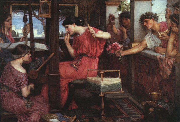 John William Waterhouse, Penelope at the Loom