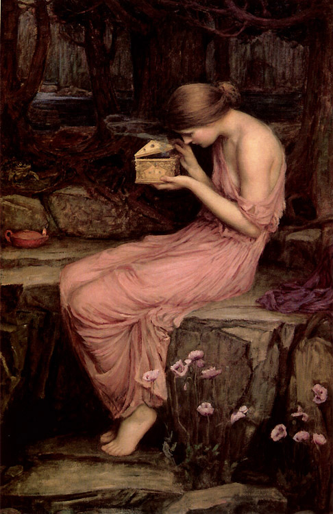 John William Waterhouse, Psyche Opening the Golden Box