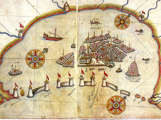 Map of Medieval Venice