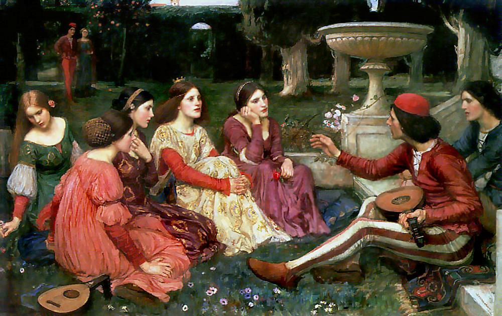 John William Waterhouse, The Decameron
