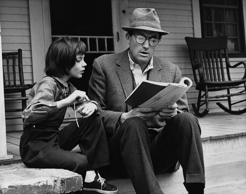 Atticus and Scout