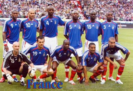 France World Cup Soccer Team, 2006