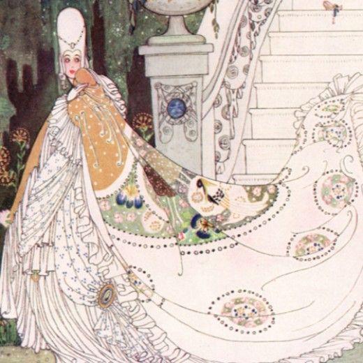 Kay Nielsen Cinderella Detail
