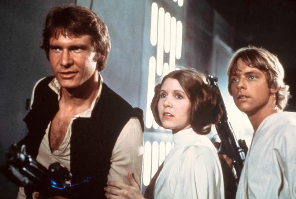 Han Solo, Leia, Luke Skywalker