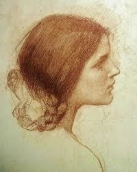 John William Waterhouse, Head of a Girl
