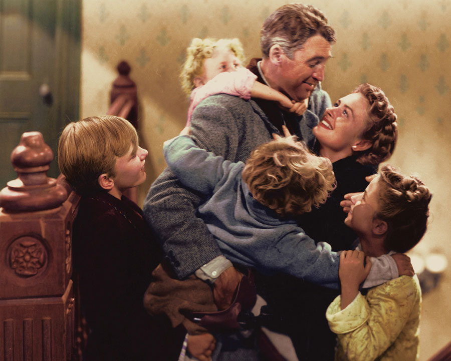 It's a Wonderful Life: The George Bailey family