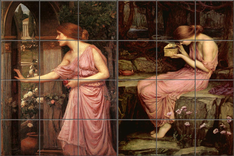 J.W. Waterhouse, Psyche mural