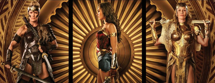 Wonder Woman Triptych