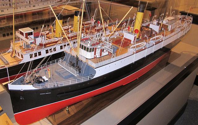 Princess Louise model ship, maritime museum