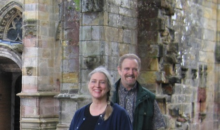 Jonathan Young and Anne Bach in Edinburgh, Scotland